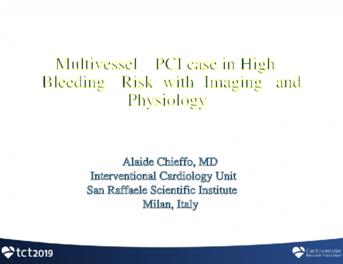 Complex PCI Case With Imaging and Physiology