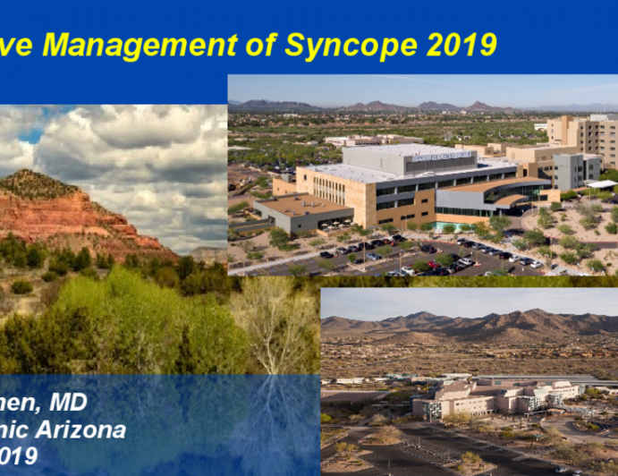Effective Management of Syncope 2019