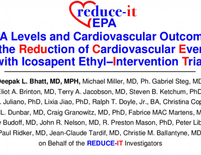 EPA Levels and Cardiovascular Outcomes in the Reduction of Cardiovascular Events with Icosapent Ethyl–Intervention Trial