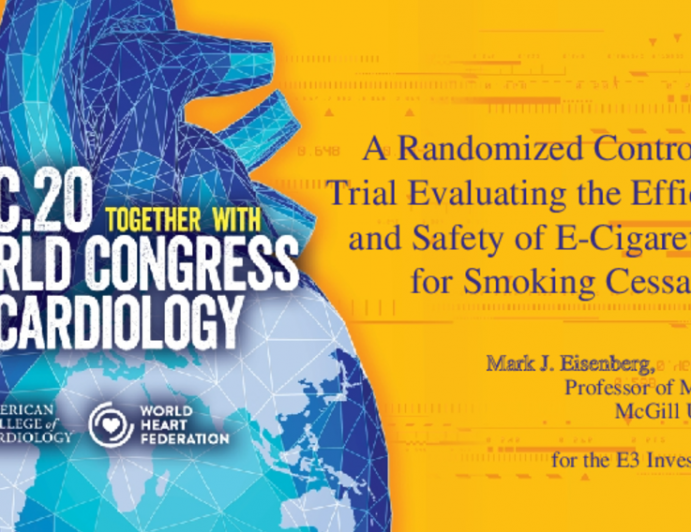 A Randomized Controlled Trial Evaluating the Efficacy and Safety of E-Cigarettes for Smoking Cessation