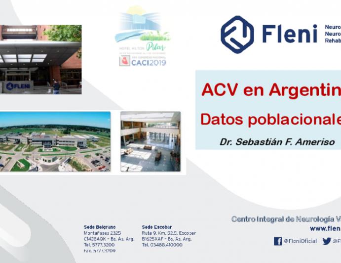 ACV en Argentina Datos poblacionales