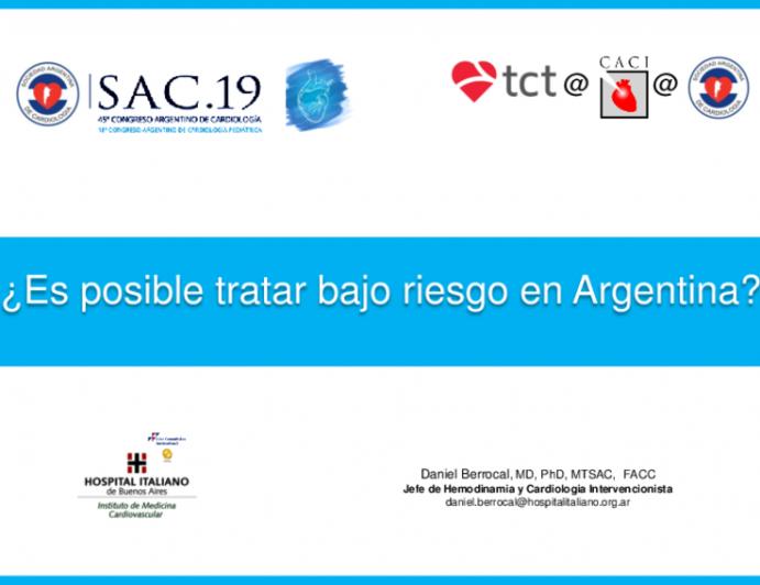 ¿Es posible tratar bajo riesgo en Argentina?