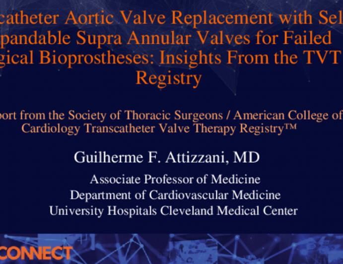Transcatheter Aortic Valve Replacement with Self-Expandable Supra Annular Valves for Failed Surgical Bioprostheses: Insights From the TVT Registry
