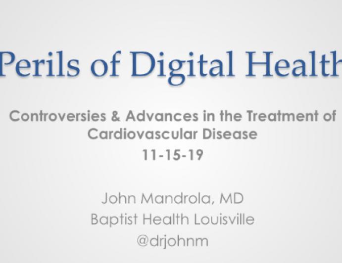 Perils of Digital Health