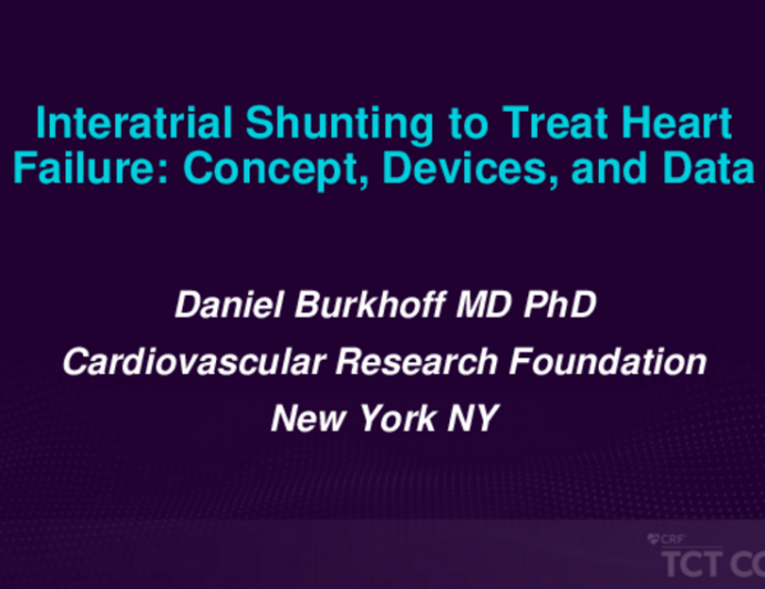 Interatrial Shunting to Treat Heart Failure: Concept, Devices, and Data
