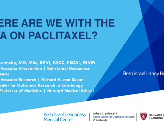 Where Are We With the Data on Paclitaxel?