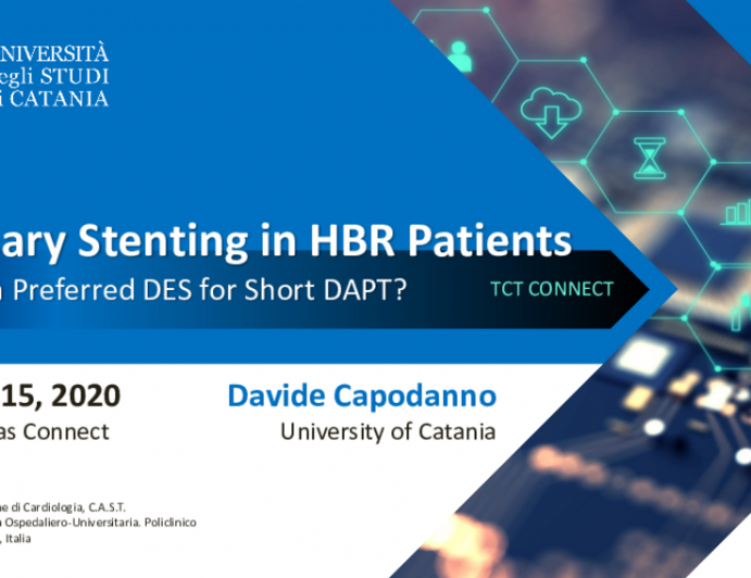 Coronary Stenting in High Bleeding Risk Patients: Is There a Preferred DES for Short DAPT?