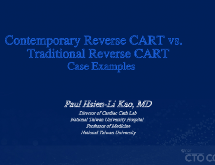 Contemporary Reverse CART vs. Traditional Reverse CART Case Examples