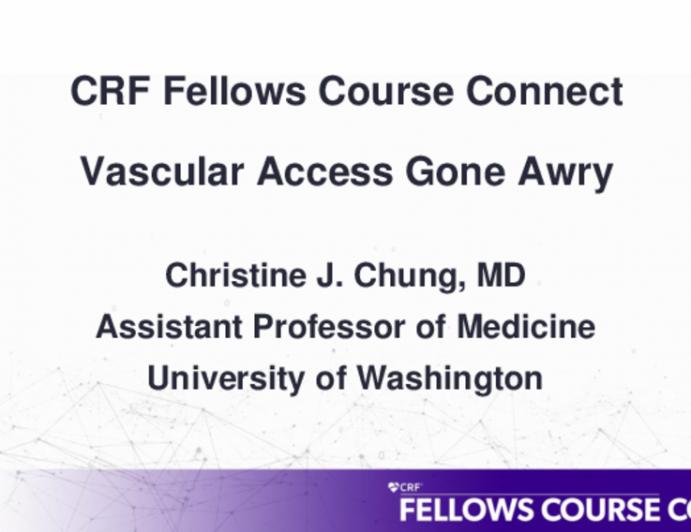 Vascular Access Gone Awry