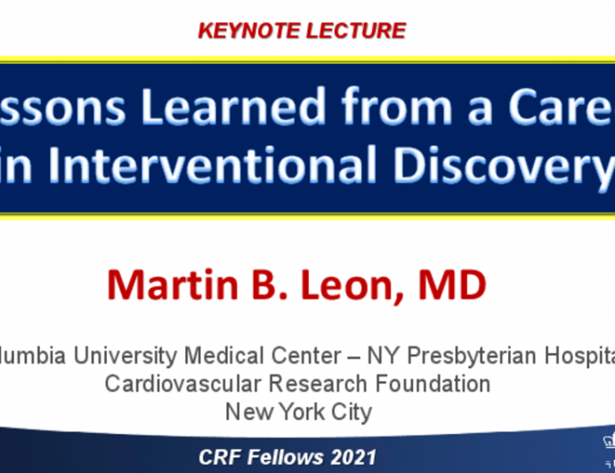 Lessons Learned from a Career in Interventional Discovery