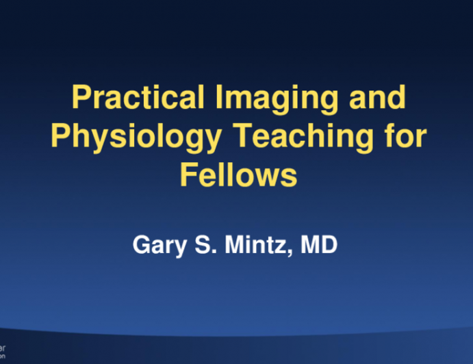 Practical Imaging and Physiology Teaching for Fellows