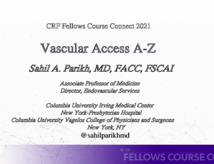 Vascular Access A-Z