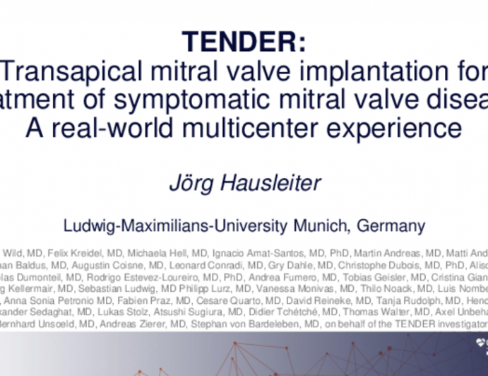 Transapical Mitral Valve Implantation for Treatment of Symptomatic Mitral Valve Disease: A Real-world Multicenter Experience