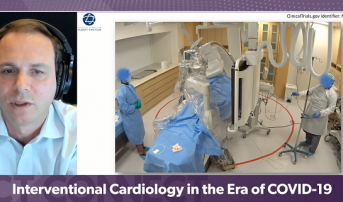Robotic PCI Can Protect Cath Lab Staff From COVID-19, Small Study Suggests