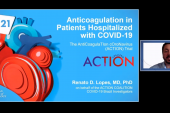 ACTION: Full-Dose Rivaroxaban Doesn't Help in Hospitalized COVID-19