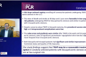 Good TAVI Results Seen Bicuspid Aortic Stenosis TVT Registry.PNG