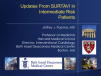 Updates From SURTAVI in Intermediate-Risk Patients