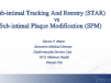 Sub-intimal Tracking And Reentry (STAR) vs Sub-intimal Plaque Modification (SPM)