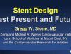 Stent Design: Past, Present and Future