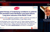 RACE 3: Effects Wane for Targeted Therapy in Early AF, HF