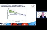 Omecamtiv Mecarbil Has Biggest Benefit at Lowest EFs