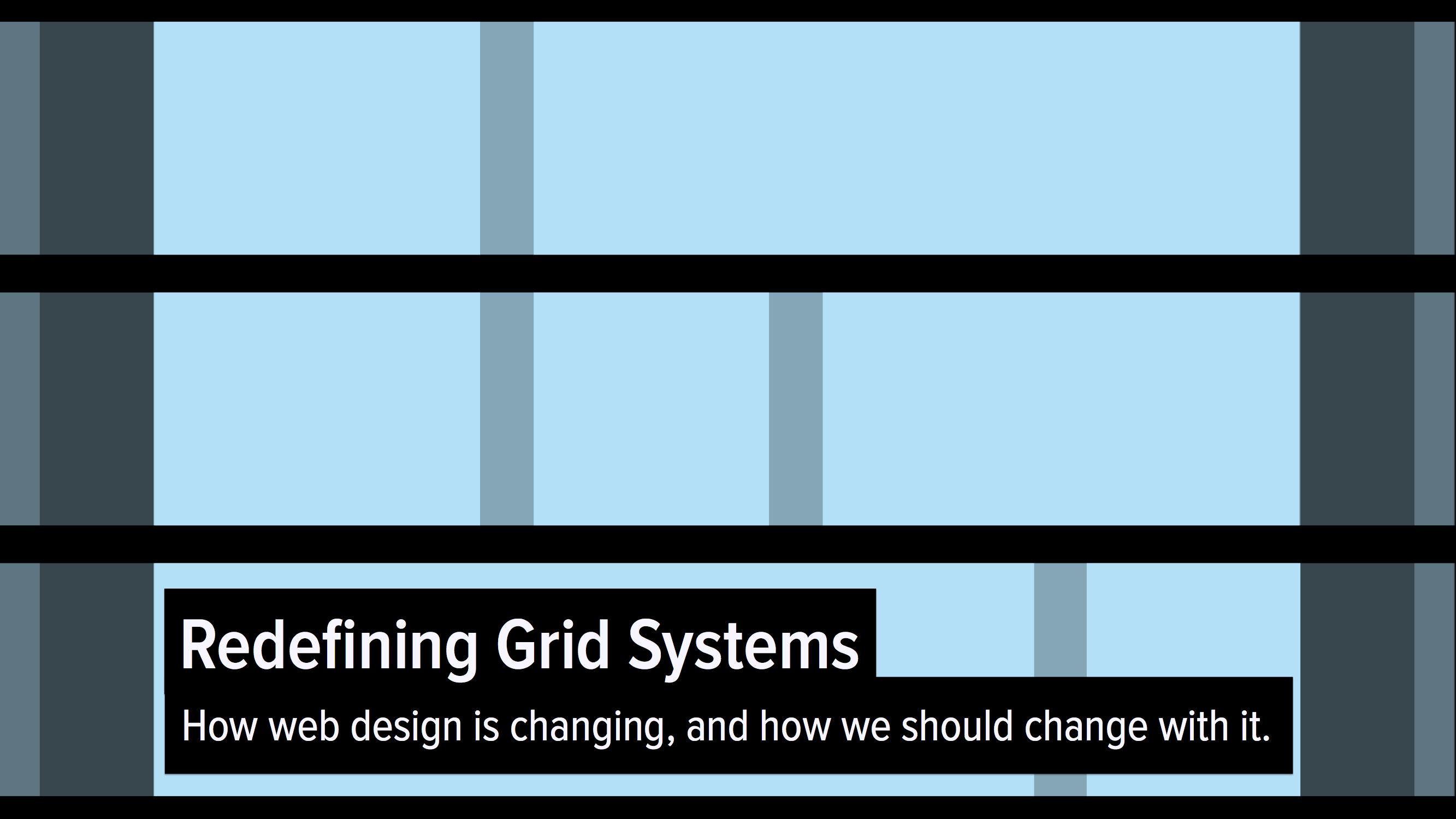 ZURB | Grid System, A Design Definition