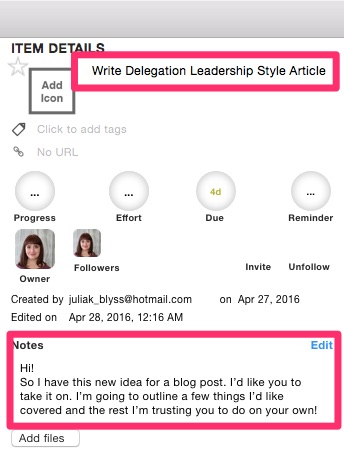 Delegating Leadership Style Tip One