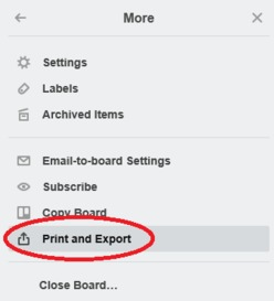 How To Export Data From Trello