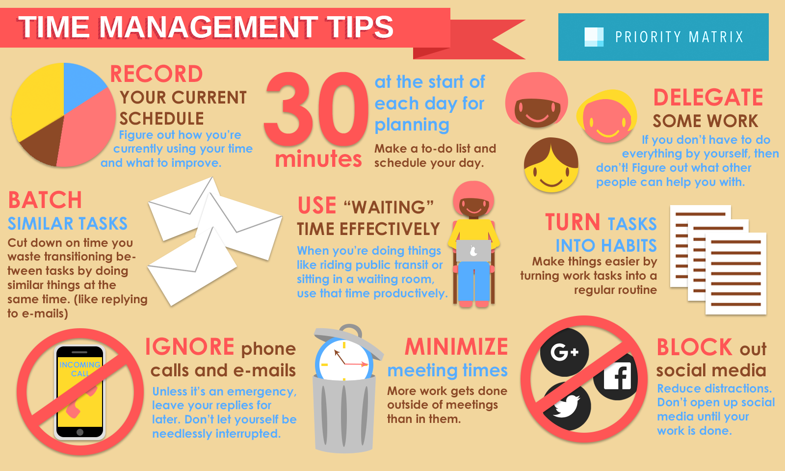 time management exercises for managers