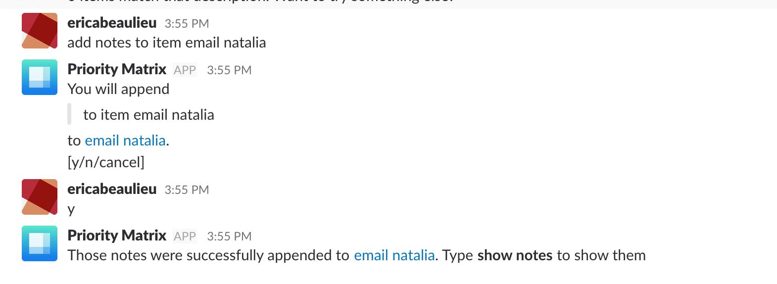 Teams / Slack / Skype Chatbot Commands