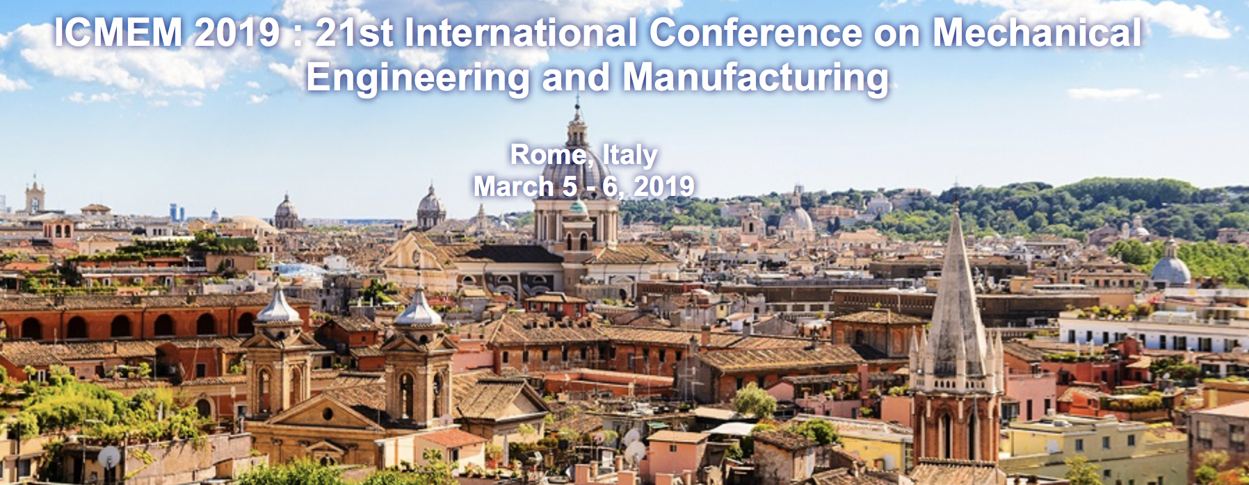 Mechanical Engineering Conference