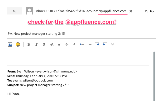 Outlook Mail Integration on Mac