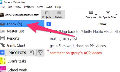 sync gmail windows