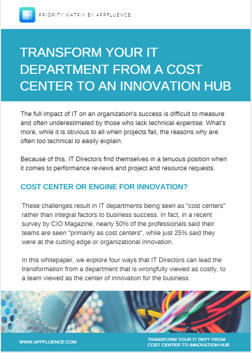 Reduce IT Department Costs