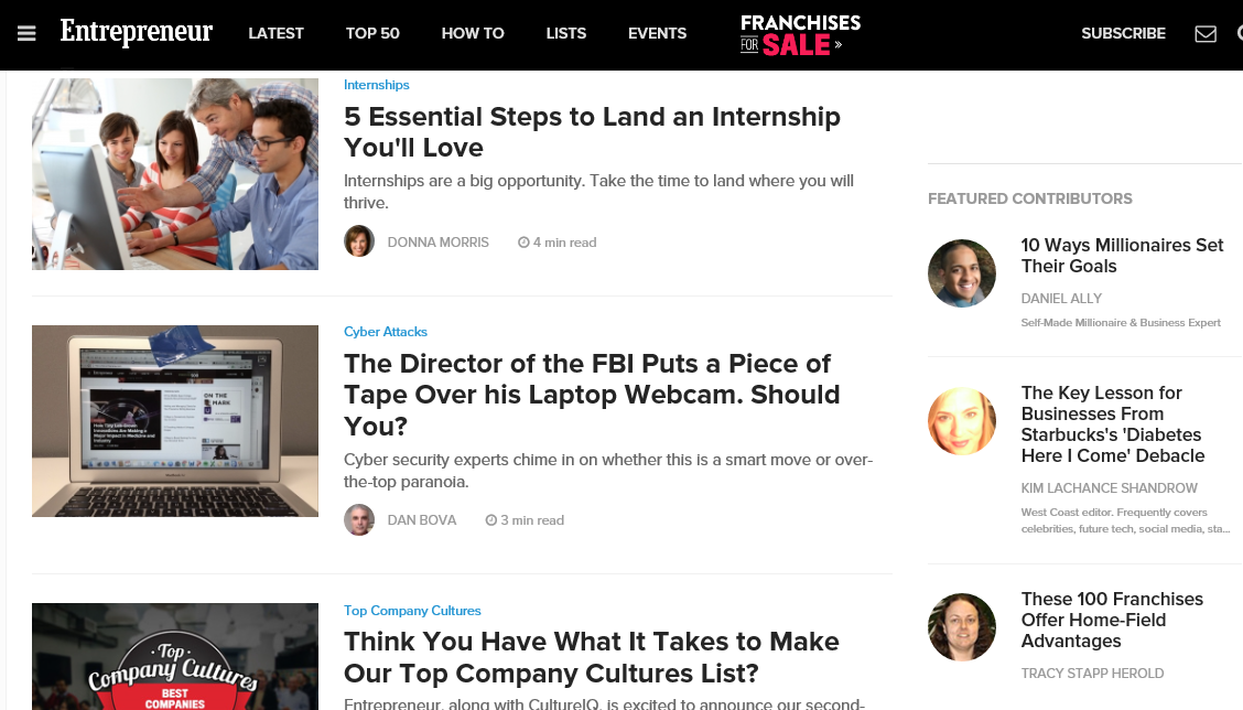 Top Business Blogs