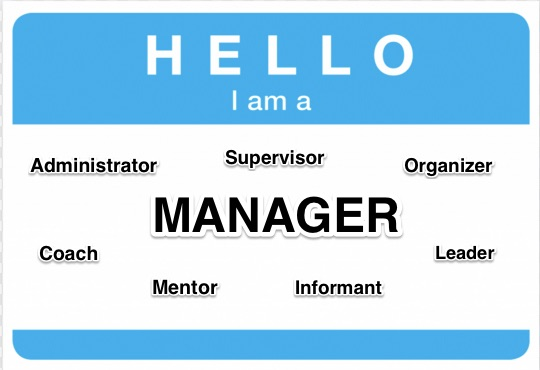 How To Be A Good Manager - Example
