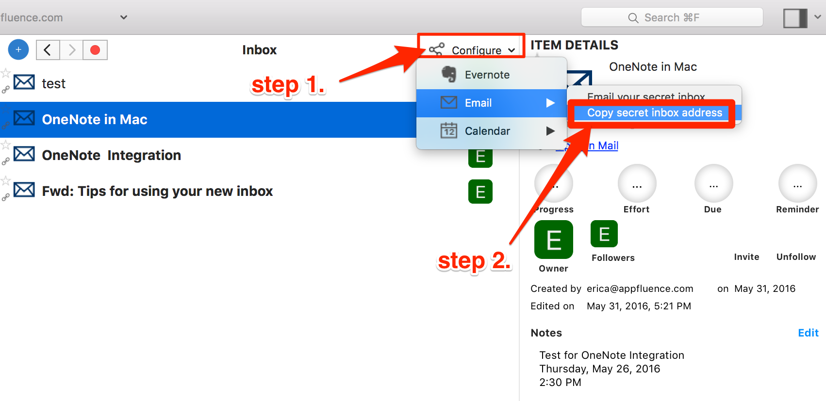 How To Integrate OneNote with Priority Matrix on Mac « Priority