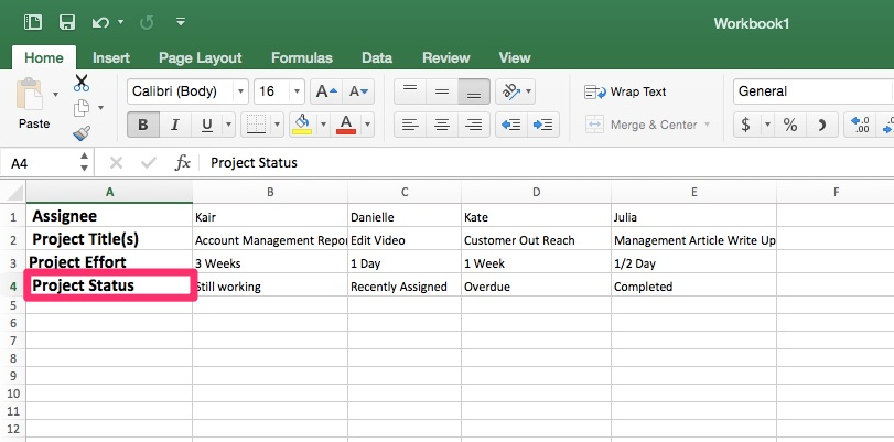 Workload Management Template Step 6