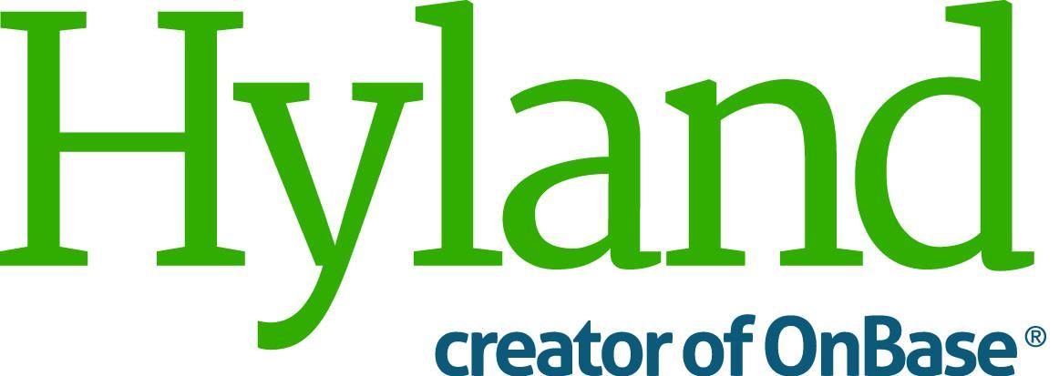 Hyland, creator of OnBase Logo