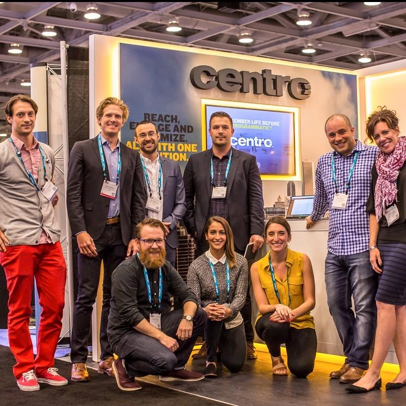 Centro Booth @ AdTech San Francisco
