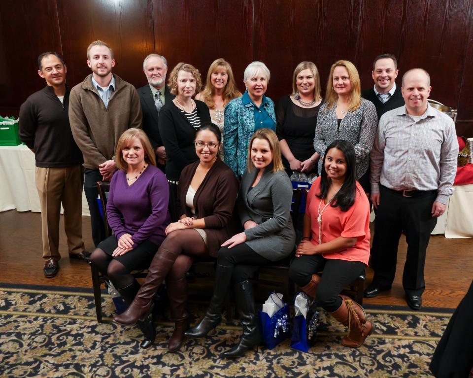 IVOE Award Winners enjoying the annual award dinner