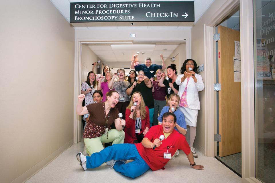 Endoscopy Suite Department at Atlantic Health System