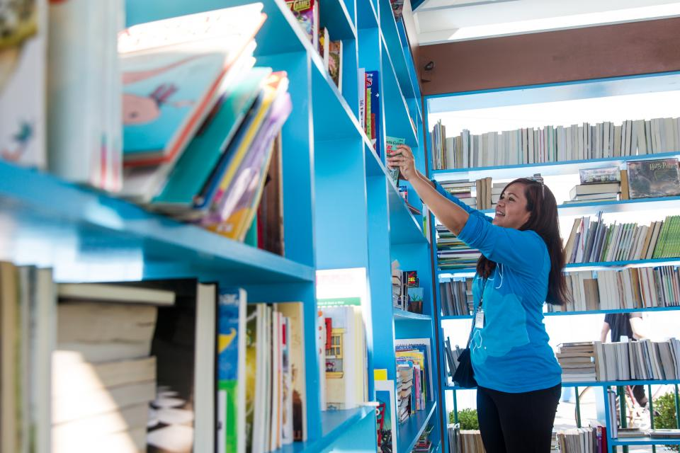 Salesforce donated over 1 million books at Dreamforce 2015