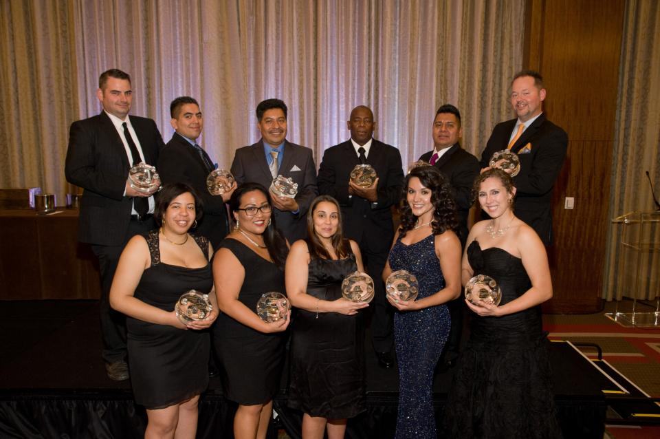 We show our appreciation for our staff and managers on a daily basis through our wide variety of recognition programs.