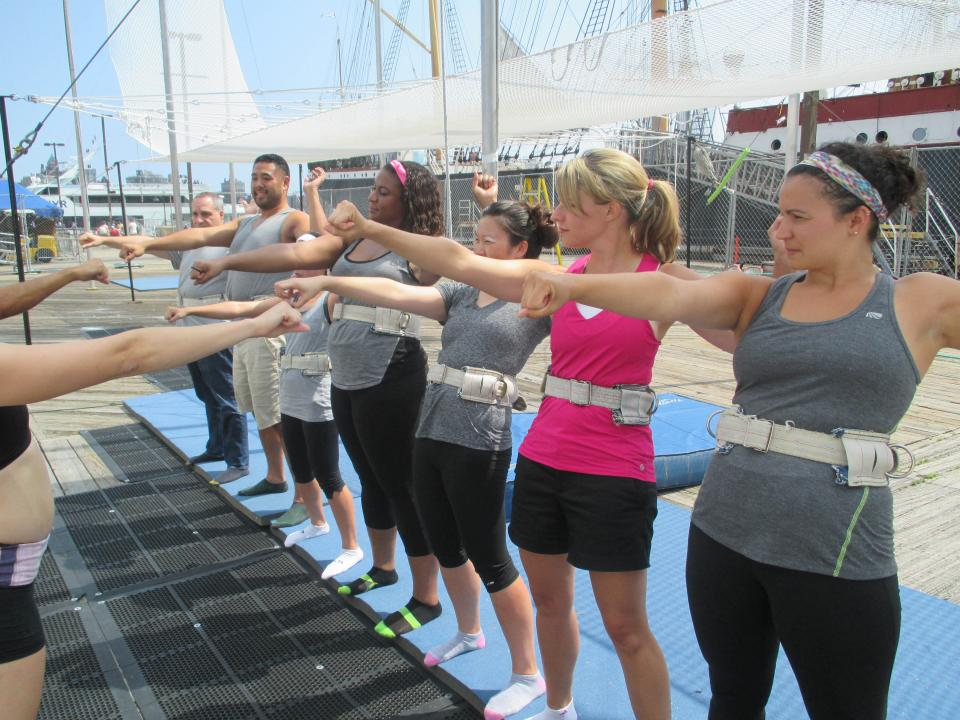 New York team ready to Trapeze