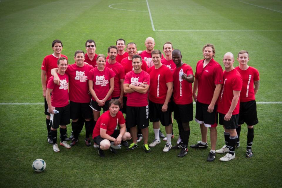 HireVue Soccer Team