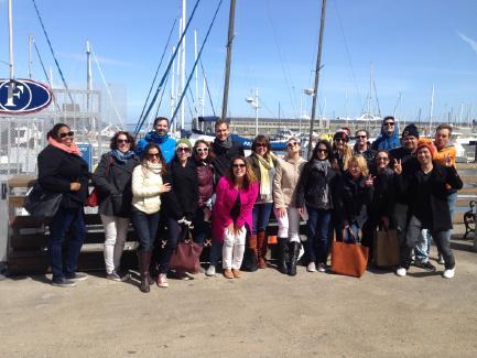 AnswerLab sails the San Francisco Bay