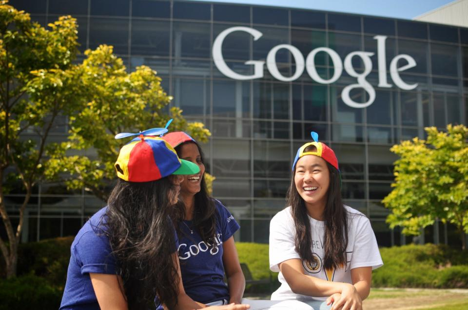 Google Inc. Employee Photo
