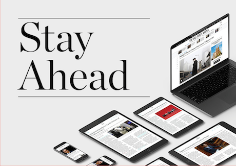 Stay Ahead with the Wall Street Journal