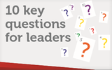 Practical questions for leaders logo image